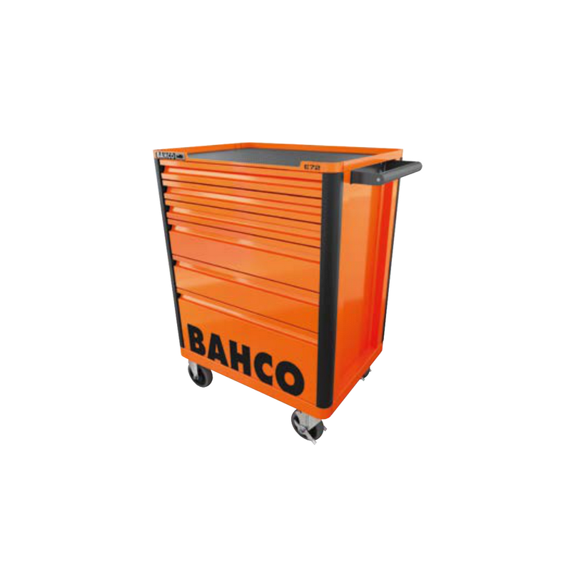 Servante 7 tiroirs -Orange-