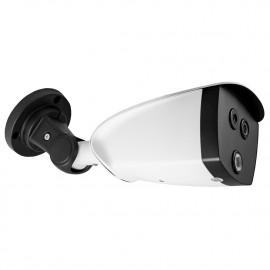 Caméra avec système de mesure de la température
