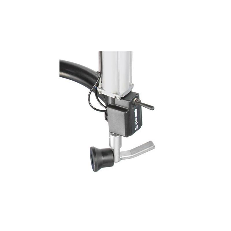 Bras de montage auxiliaire HP-ECO-R à pivotement latéral - Droit