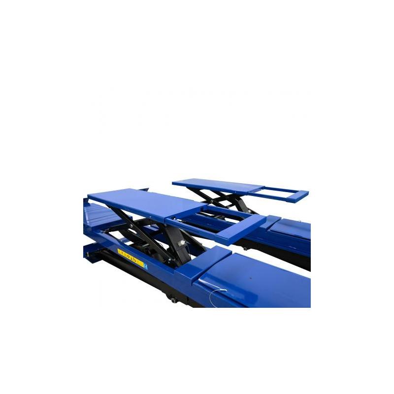 Pont ciseaux 5 T idéal pour géométrie avec levage auxiliaire 4T