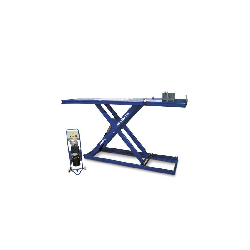 Pont pour motos jusqu'à 700 Kg (électro-hydraulique)