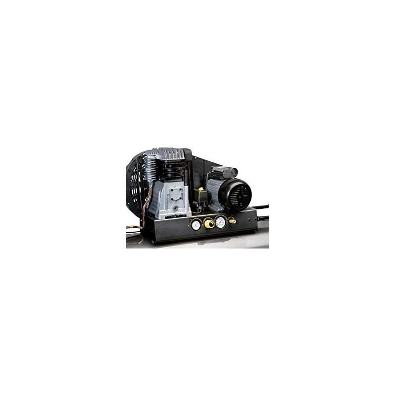 Compresseur 3 Cv 230v avec cuve 200 Litres mobile