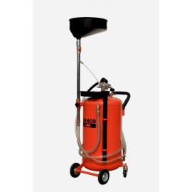 Récupérateur d'huile par gravité et aspiration 90L